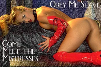 Fetish Dominatrix - Obey Me Slave